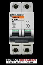 MCB 25657 10kA Merlin Gerin C60HC C6 double pôle DP 6 A 6Amp 6 Amp a