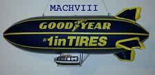 "NEW Vintage 33"" Goodyear Inflatable BLIMP NASCAR Formula 1 Memorabilia Indy 500"