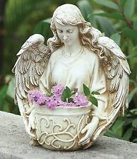 """12.5"""" ANGEL BUST PLANTER Indoor Outdoor Garden Statue Joseph's Studio 40044"""