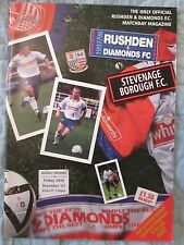 Rushden and Diamonds v Stevenage - Vauxhall Conference - 1997/98