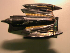 Star Wars 2005 Grievous Fighter Titanium 100% Complete C-6 Hasbro Galoob METAL!!