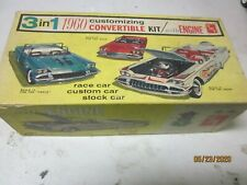 VINTAGE 1 25 MODEL BOX ONLY 1960 BUICK CONVERTIBLE ANNUAL JUNKYARD PARTS LOT