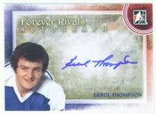 """ERROL THOMPSON """"AUTOGRAPH CARD"""" ITG FOREVER RIVALS TORONTO MAPLE LEAFS"""