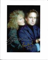 MICHAEL DOUGLAS & GLENN CLOSE Fatal Attraction Autographed 8x10 Signed Photo COA