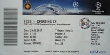 TICKET UEFA CL 2017/18 Steaua Bukarest - Sporting Clube Portugal
