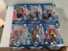 DC Multiverse 6'' KILLER CROC Complete Set of 6 Collect n Connect CNC Mattel New
