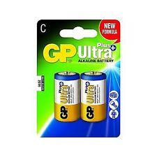 C 2-p 14aup GP Batteries Ultra Plus Alkaline C/lr14 BLISTER With 2 Batteries. 1