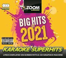 More details for zoom karaoke cd+g - big hits of 2021 - 64 pop hits - triple cd+g pack pre-order