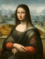 CHOP278 large Mona Lisa 100% hand-painted home decor art oil painting on canvas