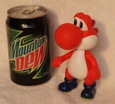 "TOLLE Super Mario Figur ""Yoshi Rot"" Mario Bros. Nintendo !!!!! NEU !!!!!"
