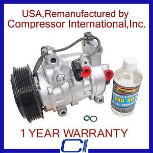 2015-2017 Honda Fit OEM Reman A/C Compressor