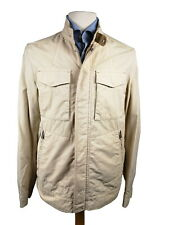 LBM 1911 Field Jacket Small Stone Zip/Snap front Cotton Blend