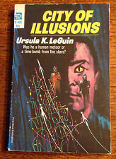 Rare 1967 SIGNED Ursula Le Guin CITY OF ILLUSIONS 1st Edition 1st Printing PBO