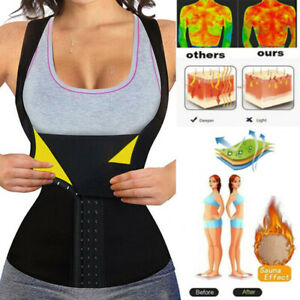 Women Hot Sweat Body Shaper Yoga Sauna Tanks Top Slimming Waist Trainer Cincher