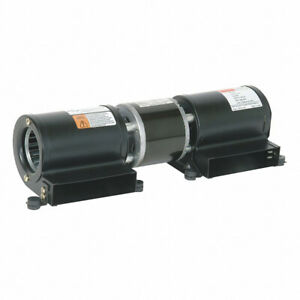 """Dayton 1TDU7 Low Profile Blower 115 Volt 127 CFM 3200 RPM 2-1/2"""" Blower Wheel"""