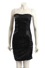 NEW DKNY - Size S - black sequined party cocktail dress-RRP:$295.00