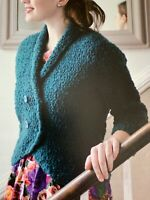 "Ladies  Double Breasted Jacket  Crochet Pattern Chest 32 - 42""  BR421"