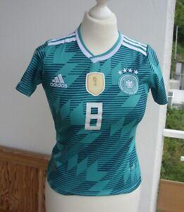 Trikot DFB Kroos 8. Kinder Gr. 128. Adidas. Deutscher Fußball-Bund. Deutschland!