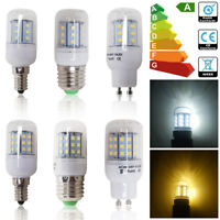 4/8/10X 3W 4W LED Corn Bulb Ampoules Lampe de maïs E27 E14 G9 2835 SMD AC 220V