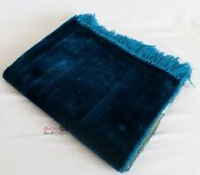 Tapis de prière uni turquoise  - islamic prayer mat