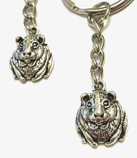 Cute Hamster / Guinea Pig Key Chain - Gerbil Kia Mascot - Us Seller Free Ship