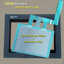 New for Pro-face GP570-BG11-24V Touch Screen Glass + Protective Film