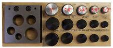 "1/2"" - 1"" Disc Cutter Concave Convex Metal Hole Puncher Punch *LIQUIDATION*"