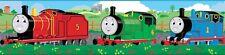 THOMAS THE TANK ENGINE Peel and Stick WALLPAPER BORDER Trains Wall Room Decor
