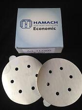 HAMACH Schleifscheiben 100 Stk.Economic Stickup (klebend) ∅ 150mm P400, 6 Loch