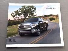 2018 Toyota Tundra Truck 28-page Original Car Sales Brochure Catalog