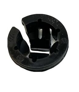 "10X Arlington Black Button  Push-In  Connector  3/8 in. Dia. 1/2"" KO 10 pk"