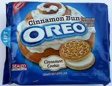NEW Nabisco Oreo Cinnamon Bun Flavored Creme Cookies FREE WORLDWIDE SHIPPING