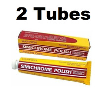 Simichrome TUBE-50G Outshining Metal Polish 1.76 oz Prevents Tarnishing 2 PACK