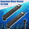 Mini Aquarium Heater Submersible Fish Tank Adjustable Water Thermostat 220-240V