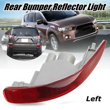 Rear Left Bumper Reflector Tail Fog Light Lamp For Mitsubishi Outlander EX 07-12