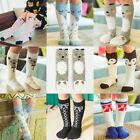 Cartoon Animal Kids Girls Knee High Socks Children Cotton Long Socks Stockings