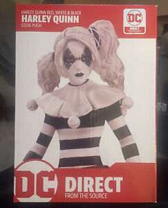 Harley Quinn Red White Black Statue: DC Direct - Limited Edition (NEW) Figurine