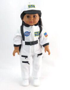 "Astronaut Uniform Fits 18"" American Girl Doll"