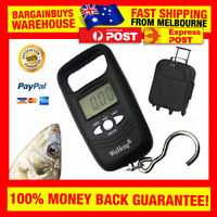 Portable Digital Hanging Scale with Hook Portable Luggage Scales Fishing Scale