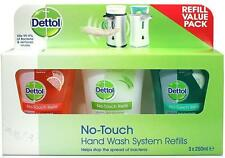 Dettol No Touch Refill 3 X 250ml Pack