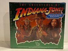 1984 INDIANA JONES UNPAINTED METAL MINIATURES - MINT SEALED - UNUSED, UNTOUCHED