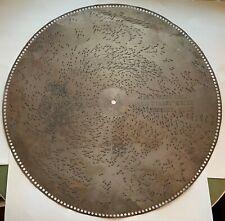 "Vintage 27"" Regina Tin Music Record/Disc, The Singing Girl+, Herbert 4268"