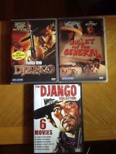 Lot Of 8 Spaghetti Western DVDS, Django, Bullet For General & Django Collection!