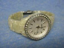 Women's FOSSIL Water Resistant Gemmed Watch ES-2670 w/ New Battery