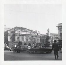LA SCALA Opera House THEATRE Vintage FOUND PHOTO Milan bw FREE SHIPPING 86 27