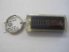 """BRENDA Key Chain Solar 2.5""""x1  Blinks NOS"""