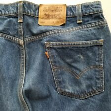 Levis 550 Jeans 38X33 Relaxed Fit Orange Tab 40550 0215 Made in USA 38x34