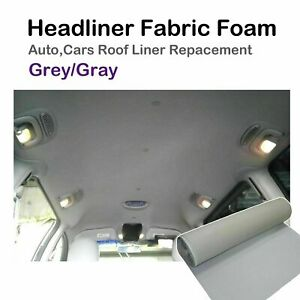 Upholstery Roof Liner Car Headliner Dome Fabric Replacement Saggy Torn 1.5Mx2.4M