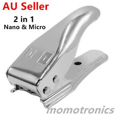 Universal 2 in 1 Micro/Nano/SIM Card Cutter For iPhone 4 5 5S 6 Cell Phone GO