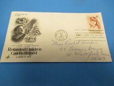 First Day Cover, Retarded Children Can Be Helped, 1974, FDC